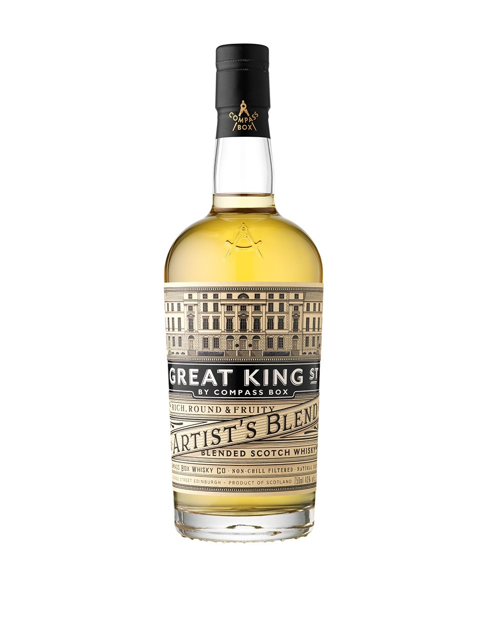 Compass Box Great King Street Artist S Blend Buy Online Or Send As