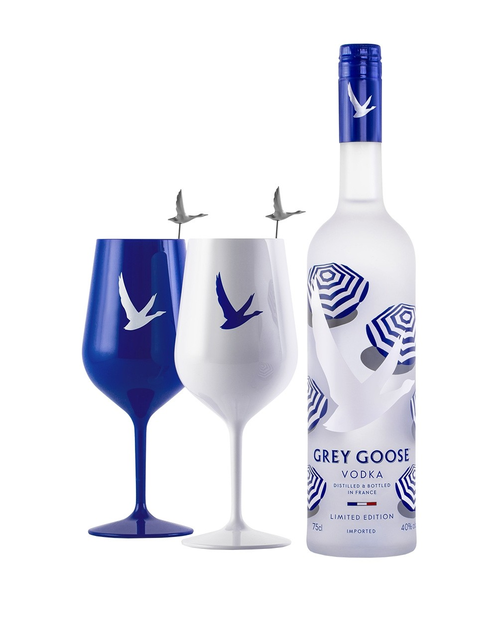 Grey Goose 174 Summer Limited Edition Bottle With Acrylic