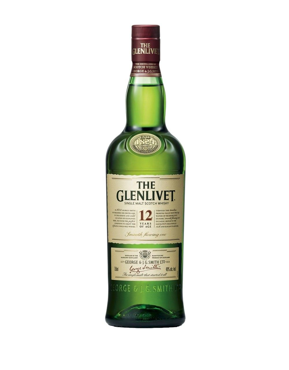 the glenlivet 12 year old scotch whisky
