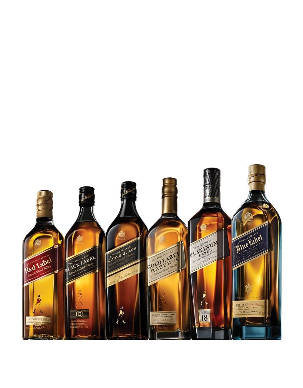 Johnnie Walker 174 Collection 6 Bottles Buy Online Or