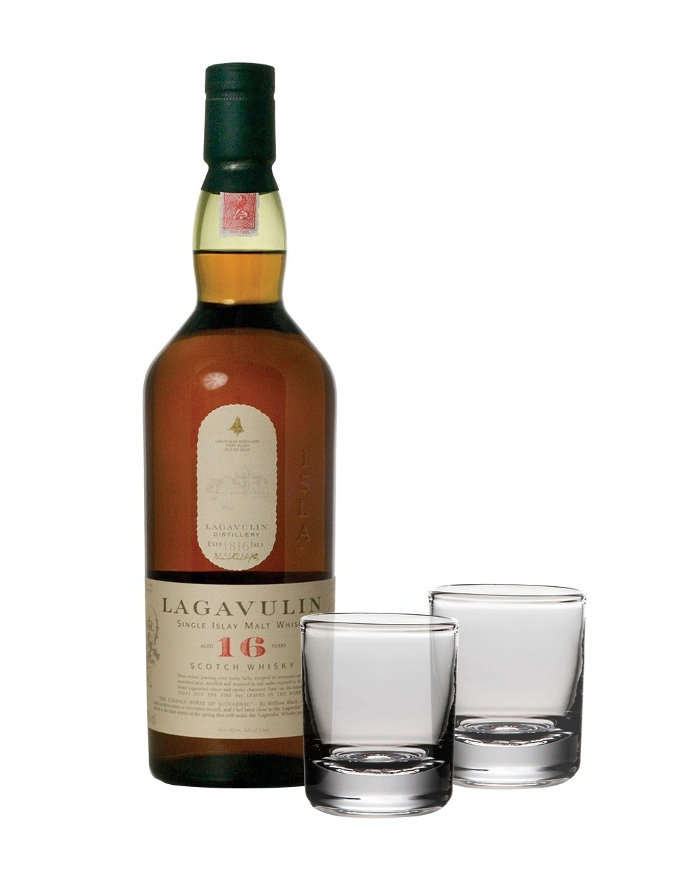 Lagavulin 16-Year-Old with Simon Pearce Ascutney Double Old ...