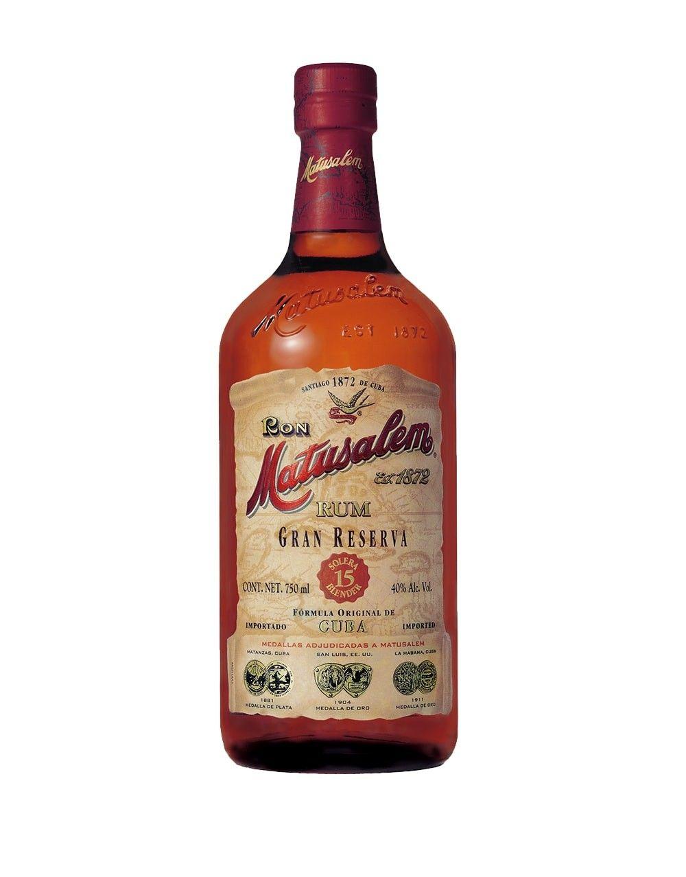 Matusalem 174 Gran Reserva 15 Rum Buy Online Or Send As A