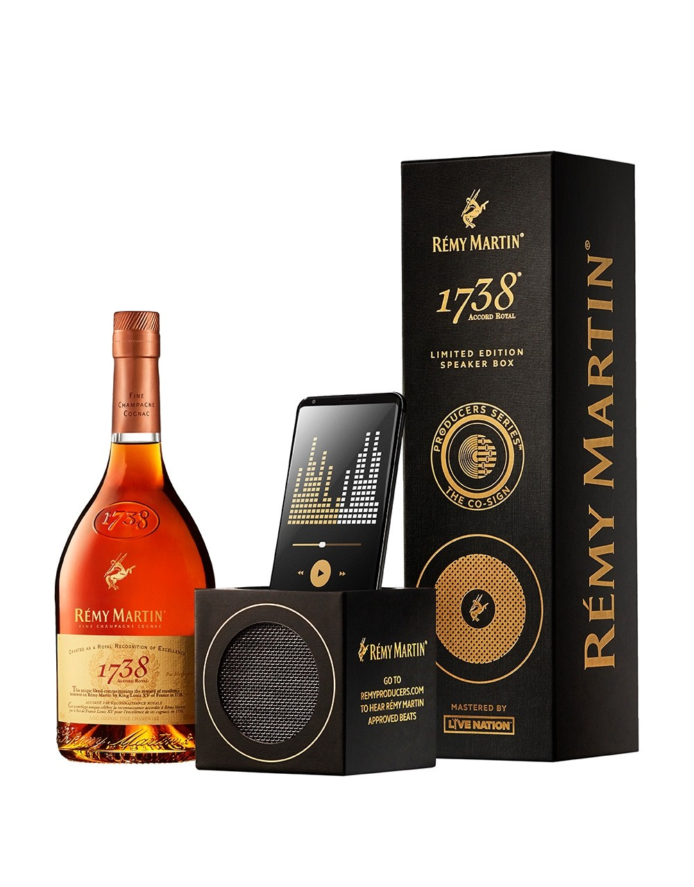 The Remy Martin 1738 174 Limited Edition Speaker Box Buy