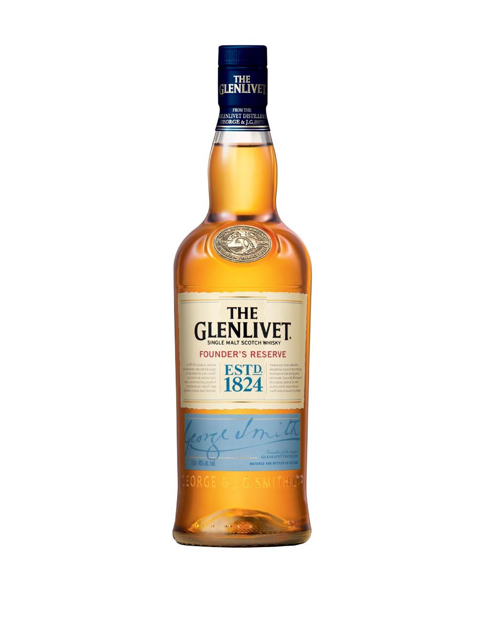 The Glenlivet Founder S Reserve Scotch Whisky Buy Online