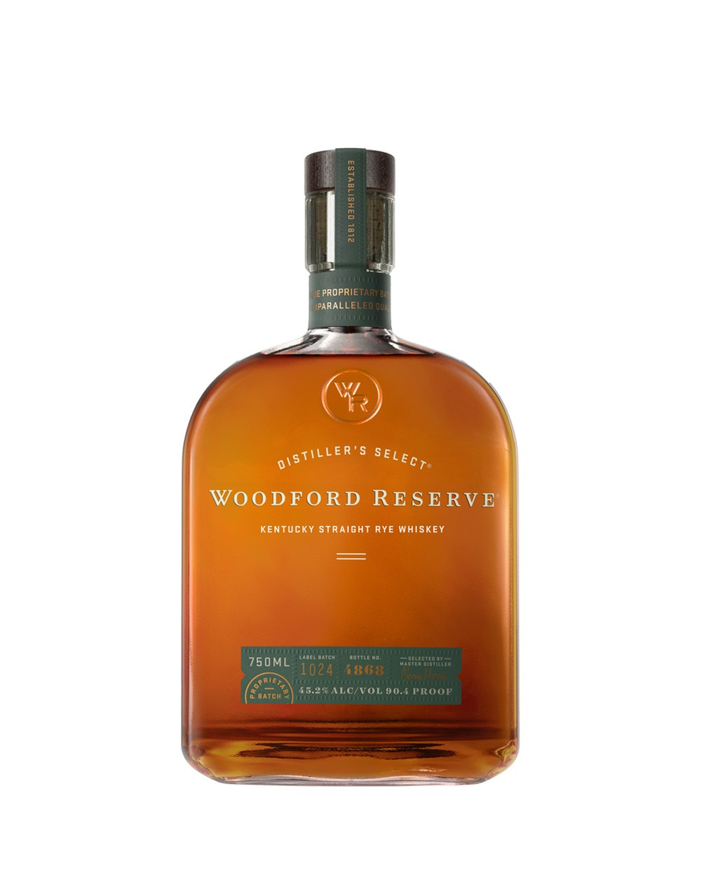 Woodford Reserve Kentucky Straight Rye Whiskey | Buy Online or Send as a Gift | ReserveBar