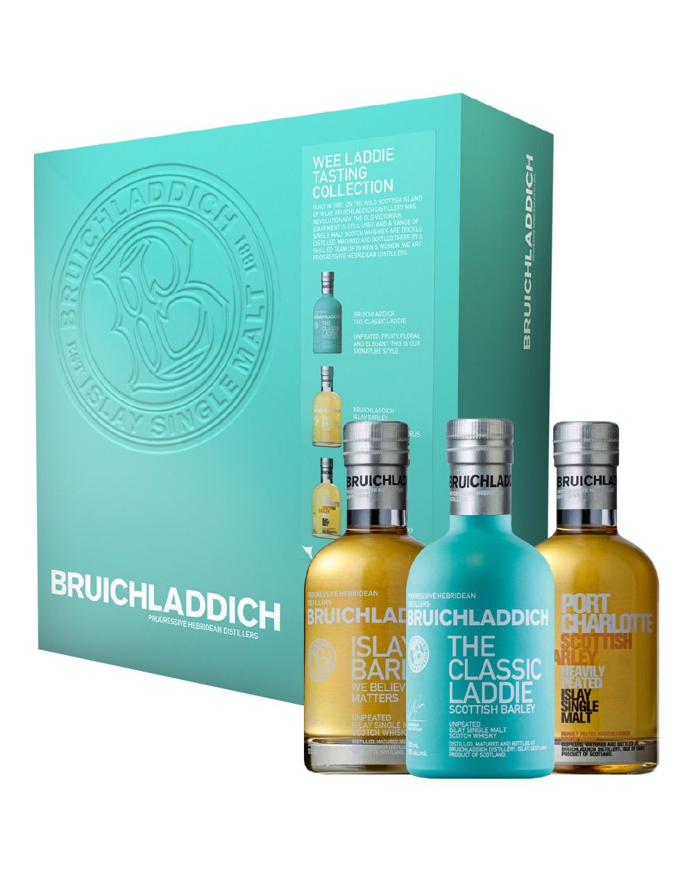 Bruichladdich 174 Wee Laddie Tasting Collection Buy Online