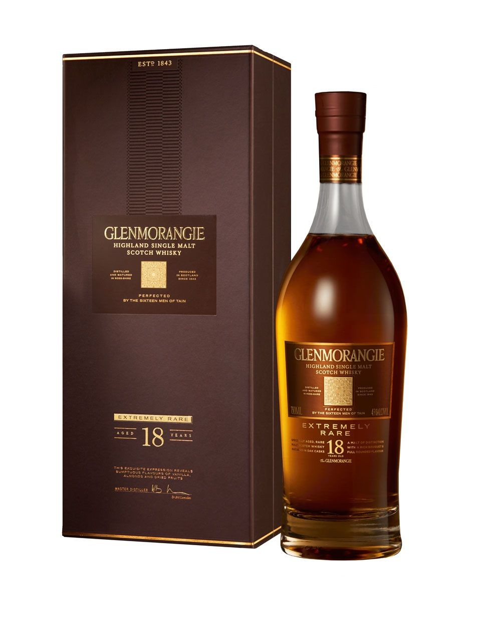 Glenmorangie Extremely Rare 18 Years Old Scotch Whisky