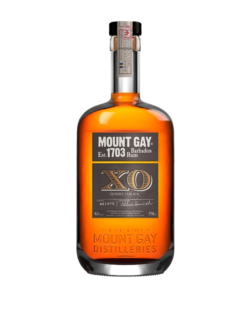 from Terrence mount gay white rum